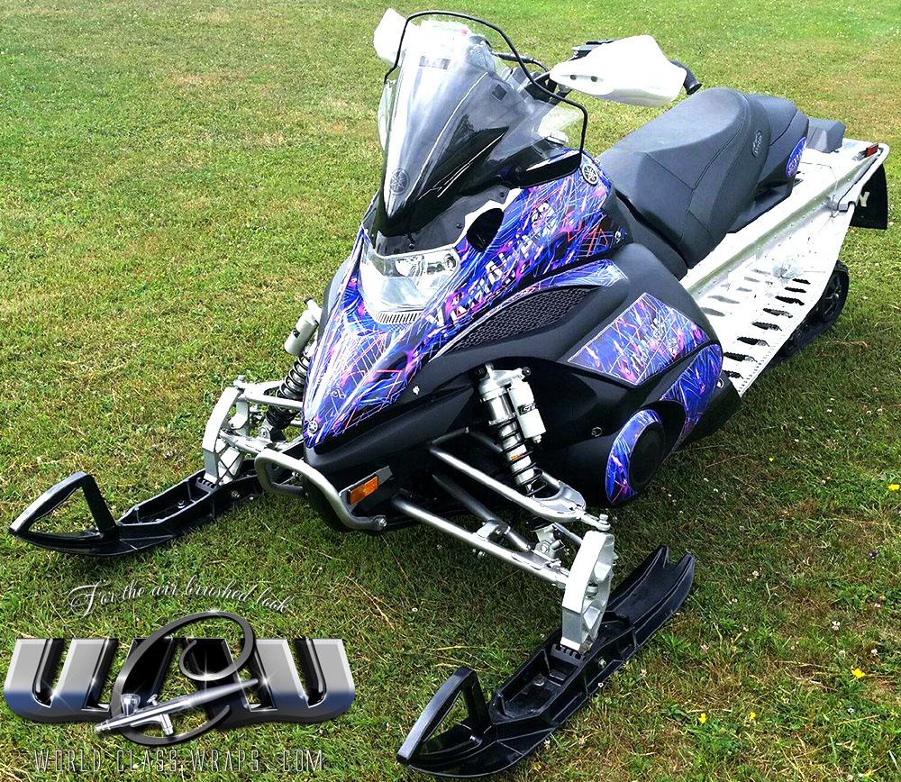 Oden U0026 39 S Web Custom Wrap For Yamaha Fx Nytro