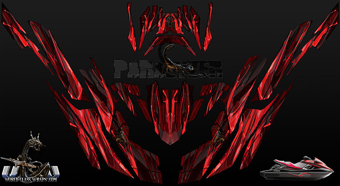Paralyzer Red graphics