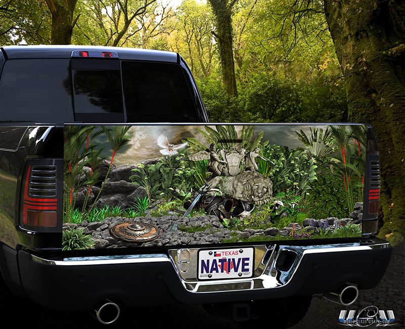 Truck Tailgate Graphics Wraps