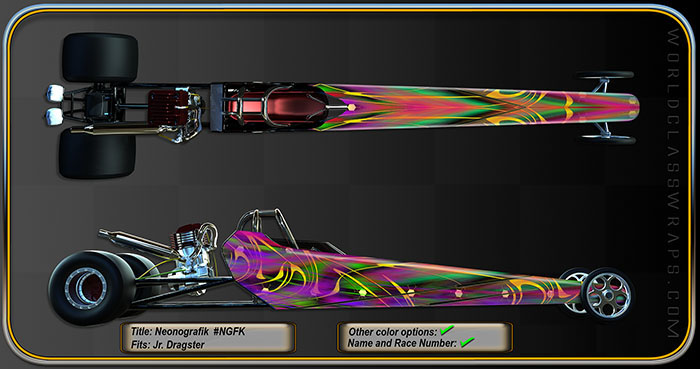 dragster wraps