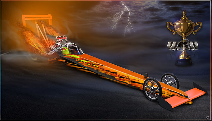 SHREDDER DRAGSTER GRAPHICS