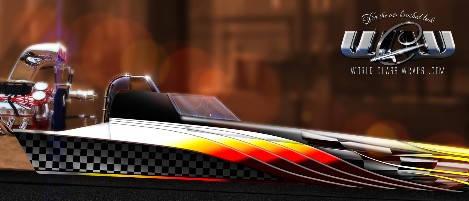 Tytan dragster graphics wrap design 2