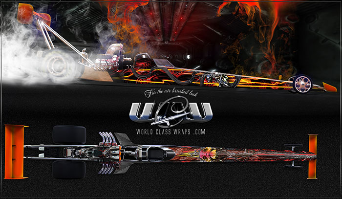 Voodoo Dragster Graphics Wrap